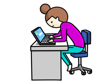 自宅のパソコンで語学の勉強